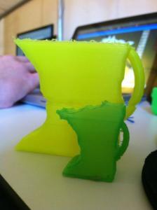 Initial 3D Printing Prototying