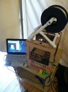 Using Makerbot 3D Printer to make Prototypes